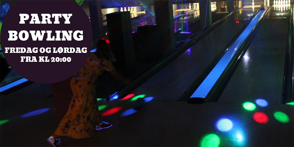 Arendal Bowling partybowling